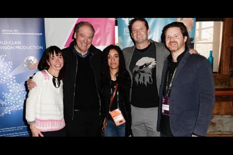 Kattie Kotok, Adrian Wootton, Rubika Shah, Trevor Groth, and Ed Gibbs